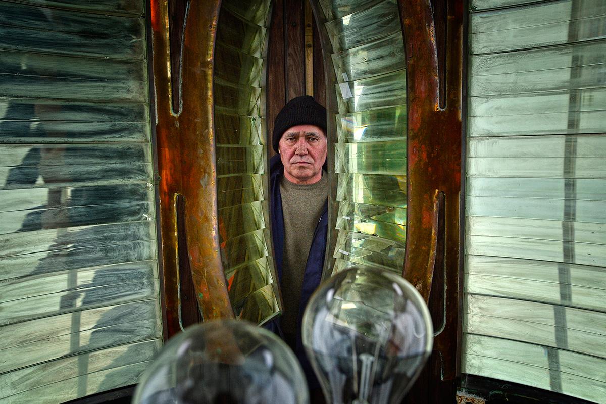 Il cuore del faro è situato al terzo piano, dove è stata installata una grande lente