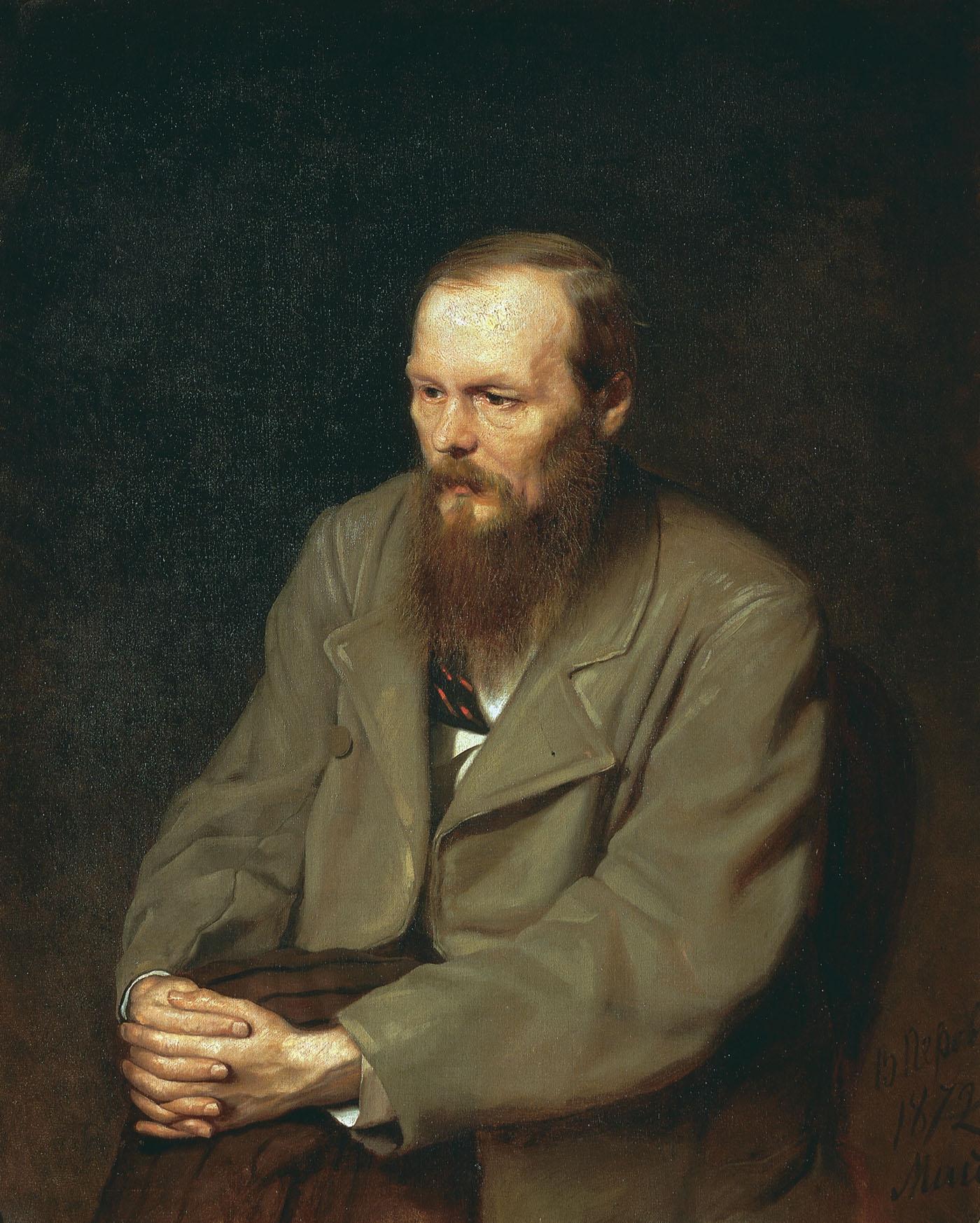 Vasilij Perov, portret Fjodorja Dostojevskega, 1872.