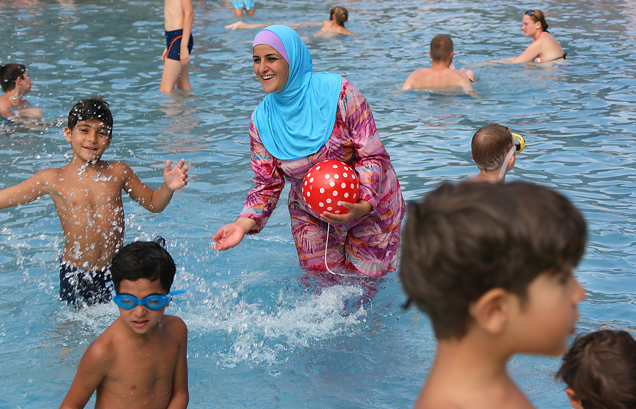 The burkini is a rarity in Russia, despite the fact that Russia is home to more than 20 million Muslims.