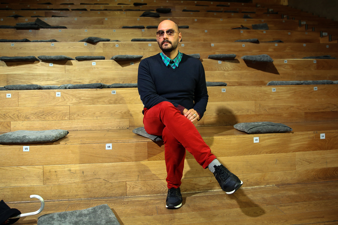 "Kirill Serebrennikov: ""The topic is of concern to all – the presence of obscurantism, some bigotry and religious fanaticism in our lives that change it every day."""