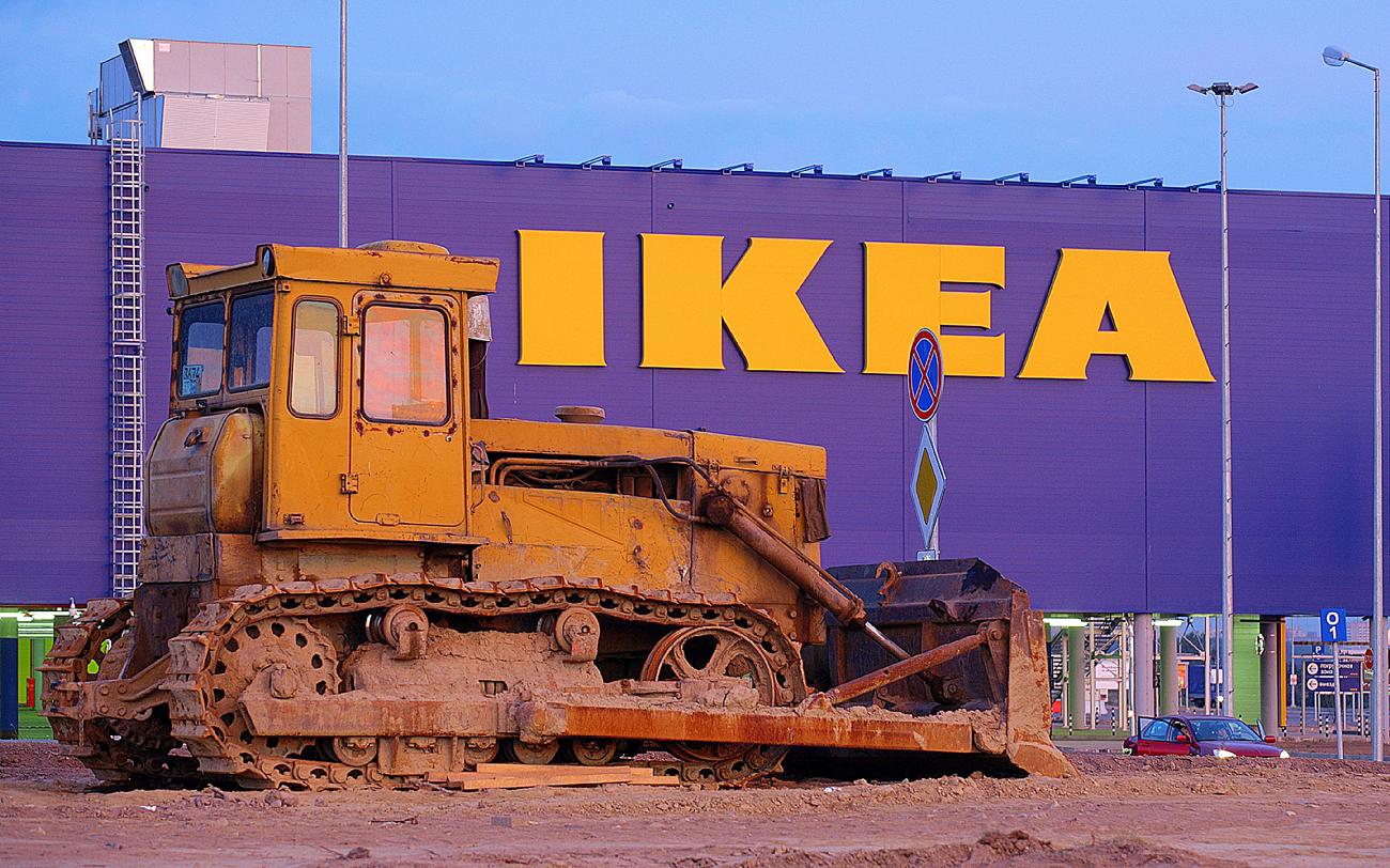 In Russland hat der Konzern mehr Probleme mit den Verkaufsflächen als anderswo.