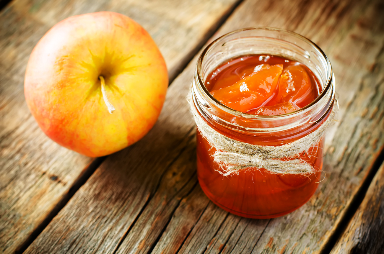 How to make jam from apples and rintes 9
