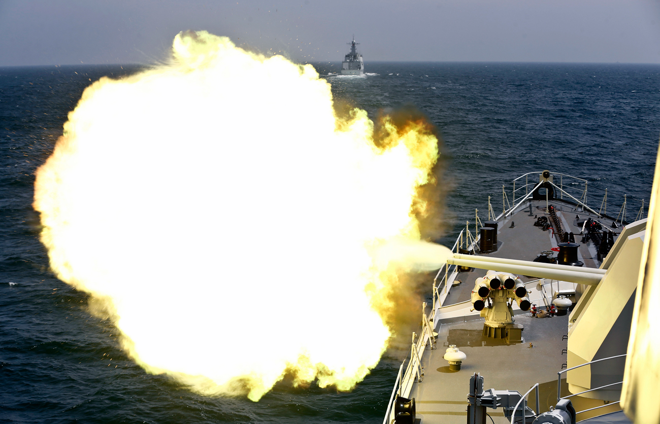 The world will be watching the upcoming Russia-China naval exercises.