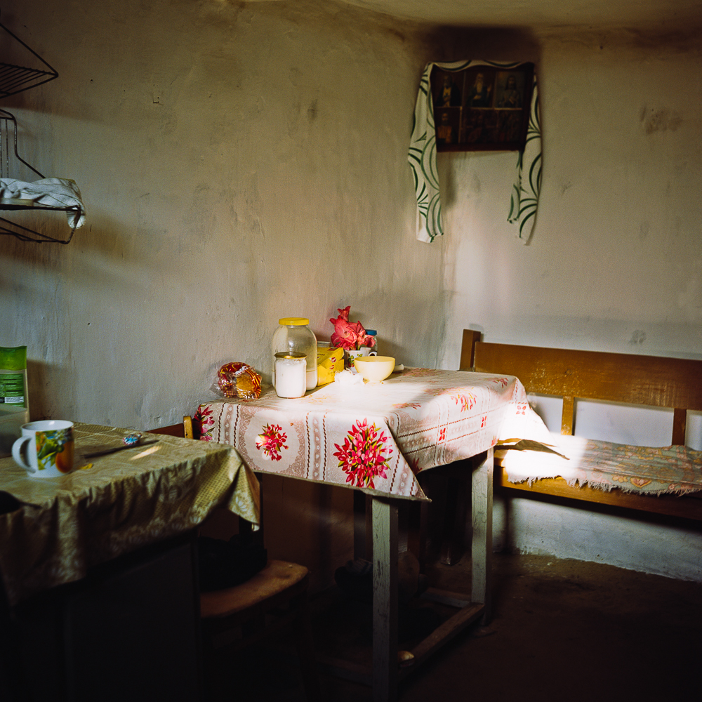 Photographer Anastasia Tsayder travelled in provincial Russia for three years, visiting villages in the Kursk region.