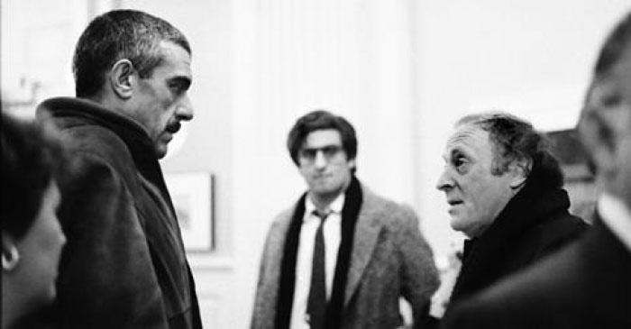 Sergueï Dovlatov et Joseph Brodsky. Photo d'archive