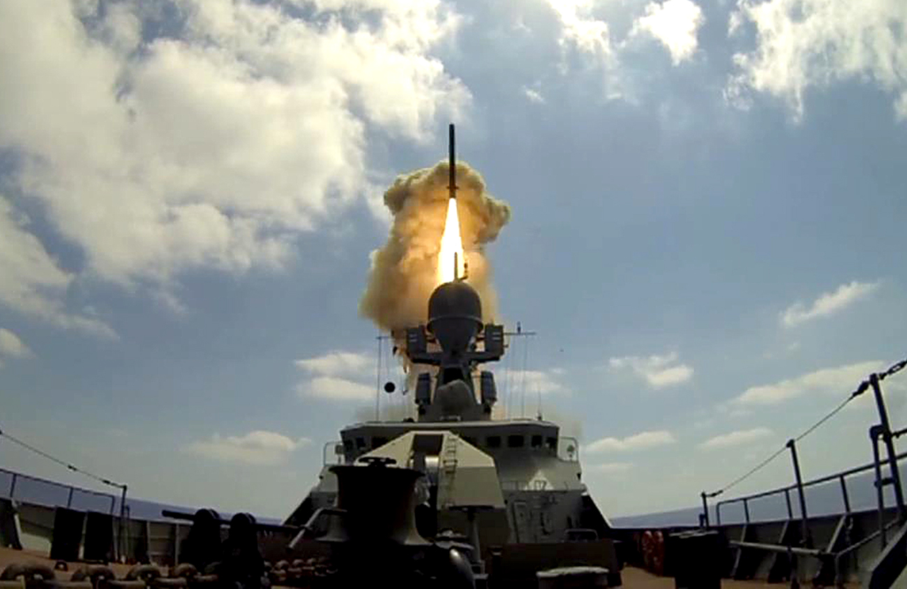 "The Indian Navy already possesses ""Calibr"" missiles, but only the anti-ship variety."