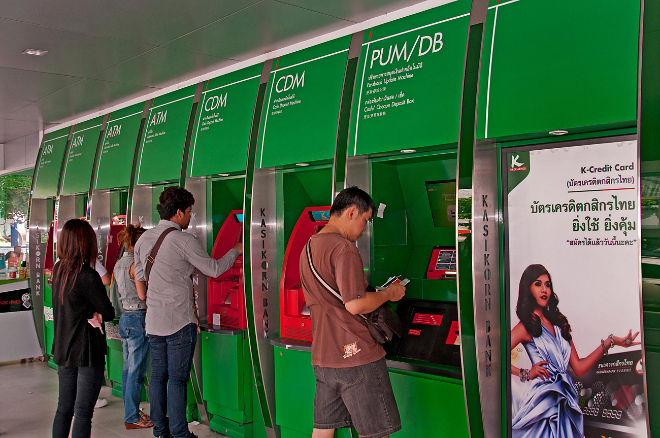 Thai ATMs are increasingly vulnerable to cybercriminals.