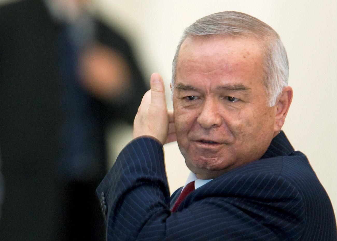 Presiden Karimov meninggal pada usia 78 tahun pada Jumat (2/9).
