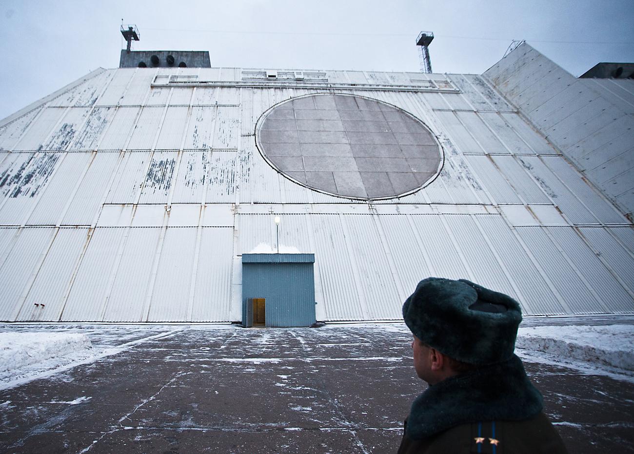 Sistema para vigilância espacial e defesa antimíssil nos arredes da capital Foto: Ivan Guschin/TASS