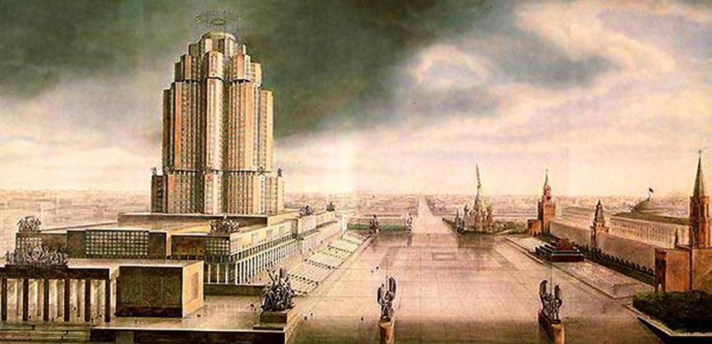 Among the far-reaching programs of the first Stalinist five-year plans, the General Plan for the reconstruction of Moscow, adopted in 1935, overshadowed all others in terms of grandeur. Under the plan, Moscow was to be transformed almost overnight into the model capital of the world's first socialist state.