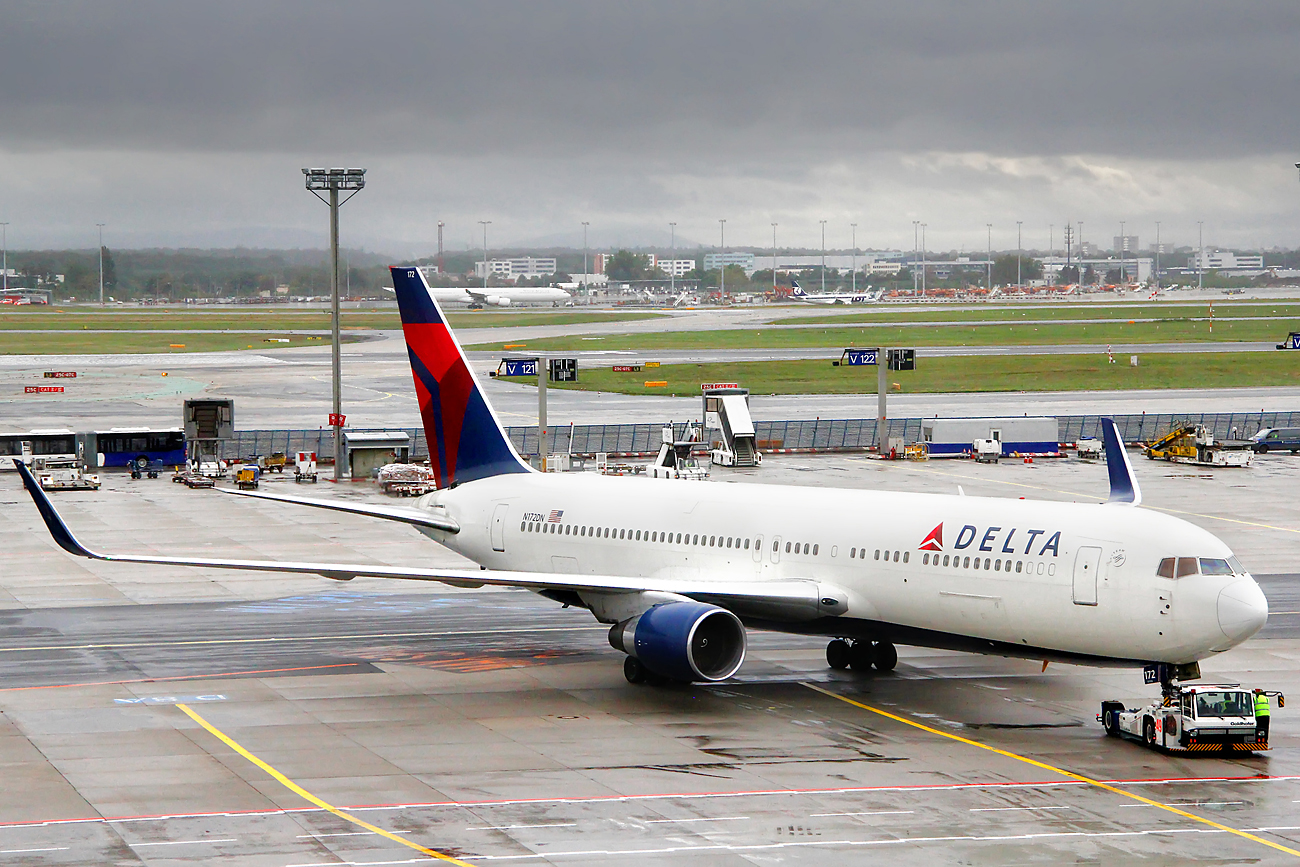 Delta Air Lines says Russia is now a seasonal destination.