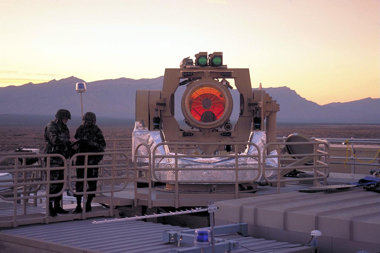 Laser pode atingir diferentes tipos de alvo áereo, incluindo drones e mísseis