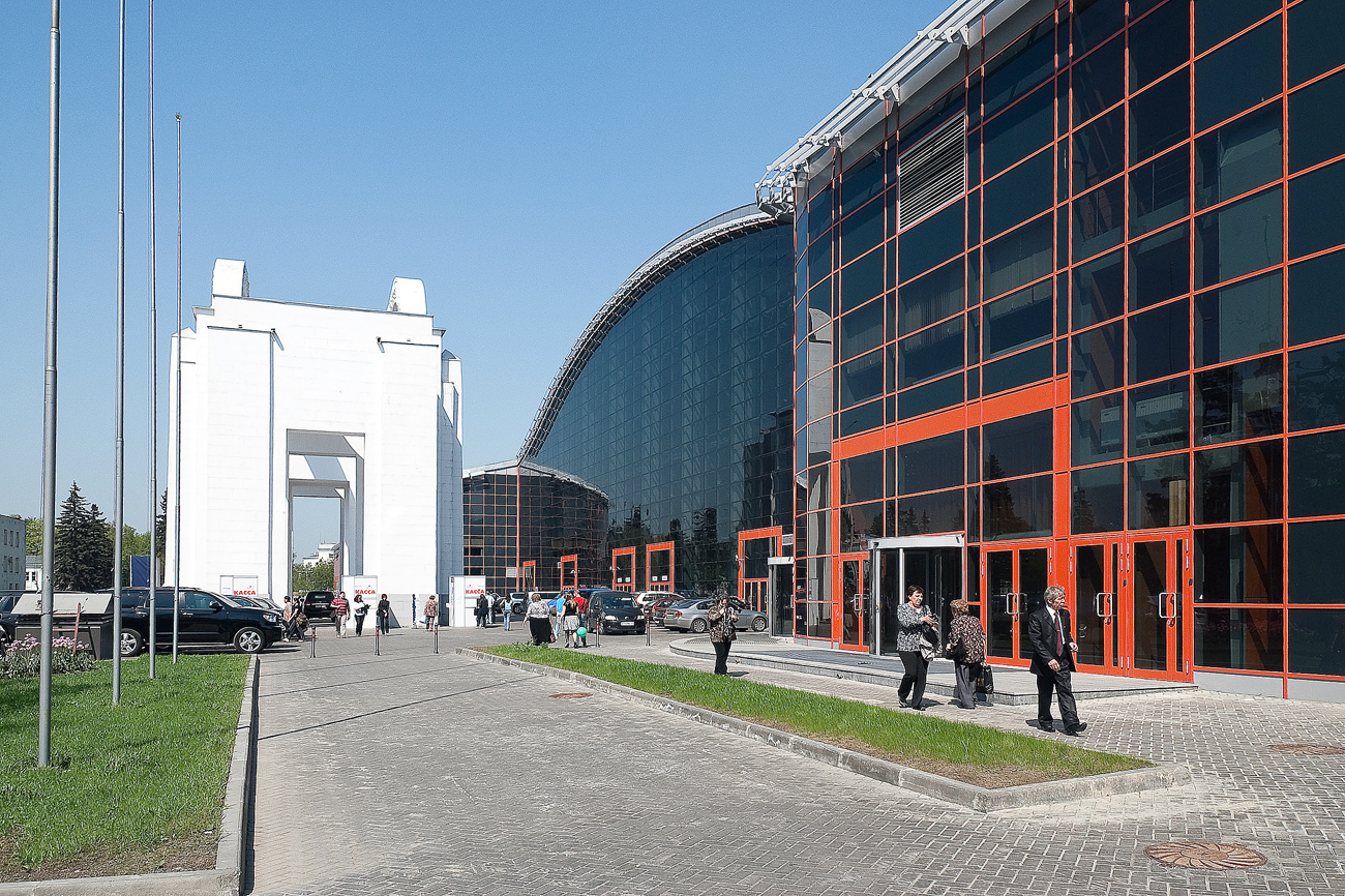 The 75th pavilion at VDNKh.