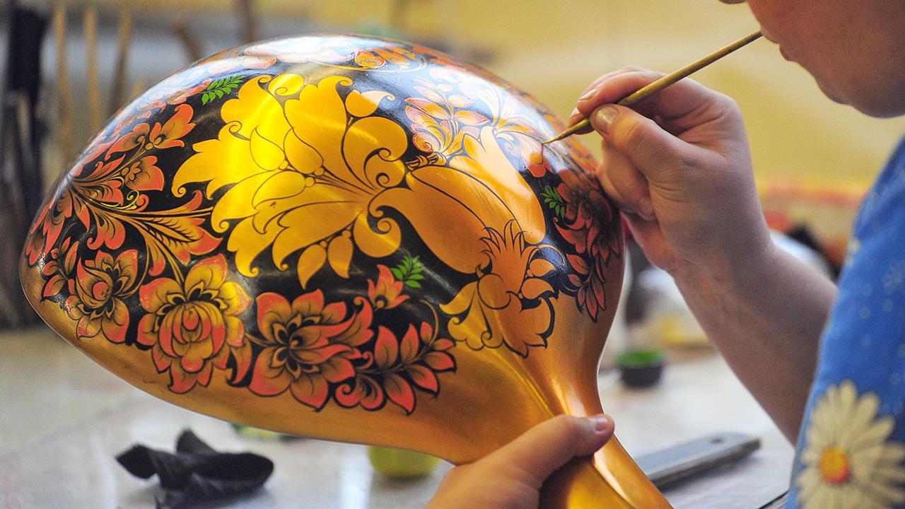 ホフロマ塗りのスプーン