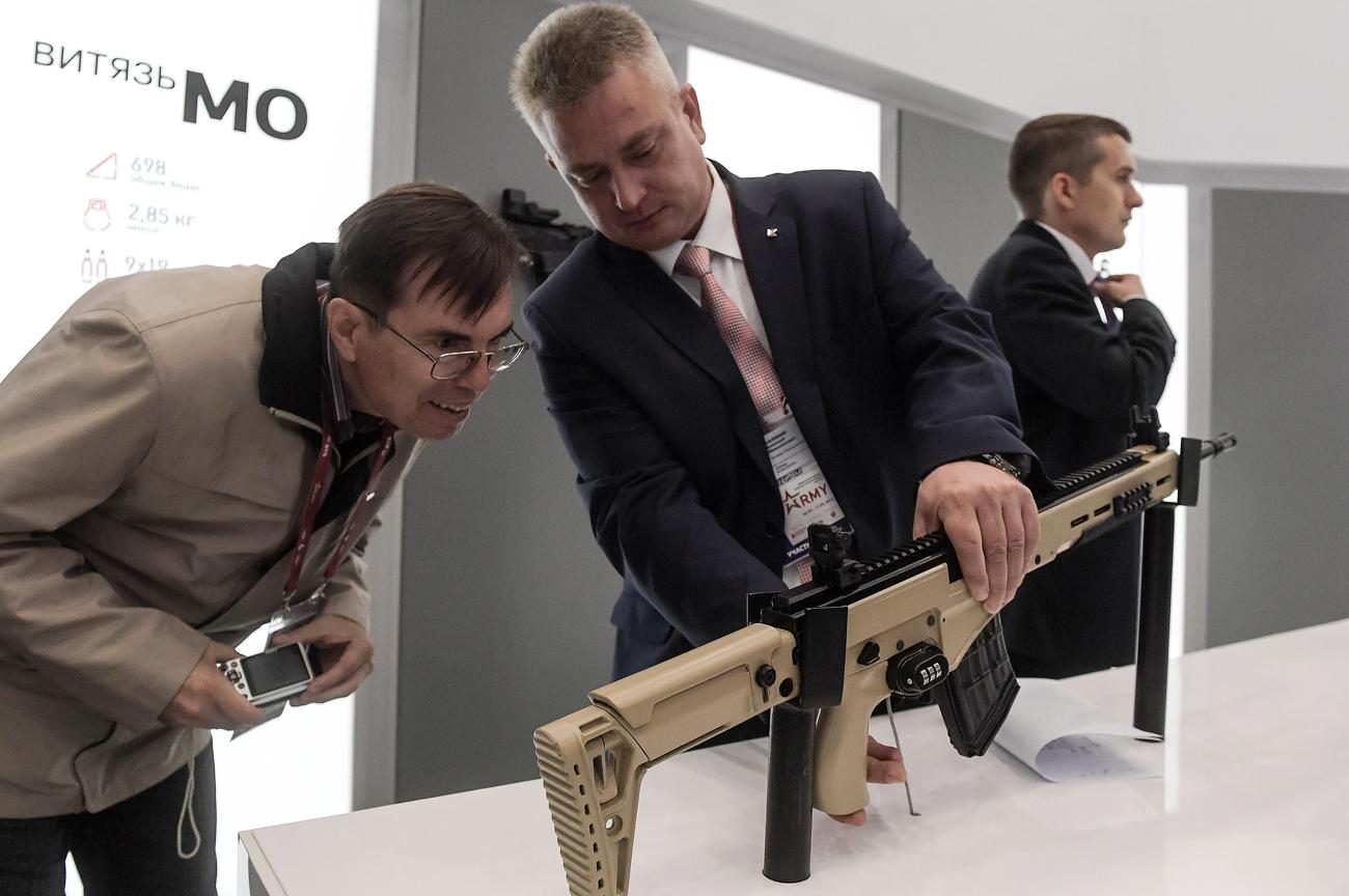 "Snajperska puška ""Kalašnjikov"" (SVK). Izvor: Grigorij Sisojev/RIA Novosti"