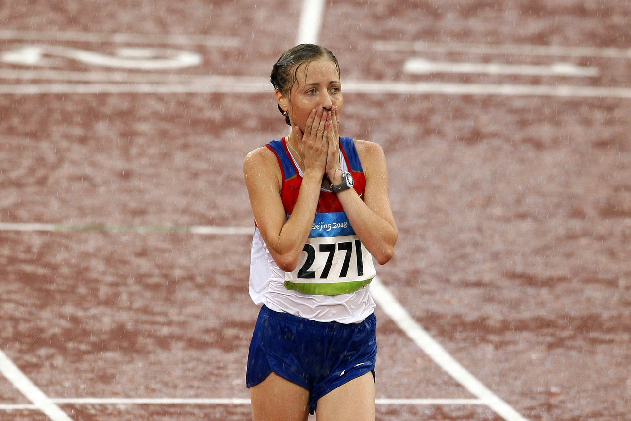 Olga Kaniskina teve medalha de prata da Londres-2012 cassada