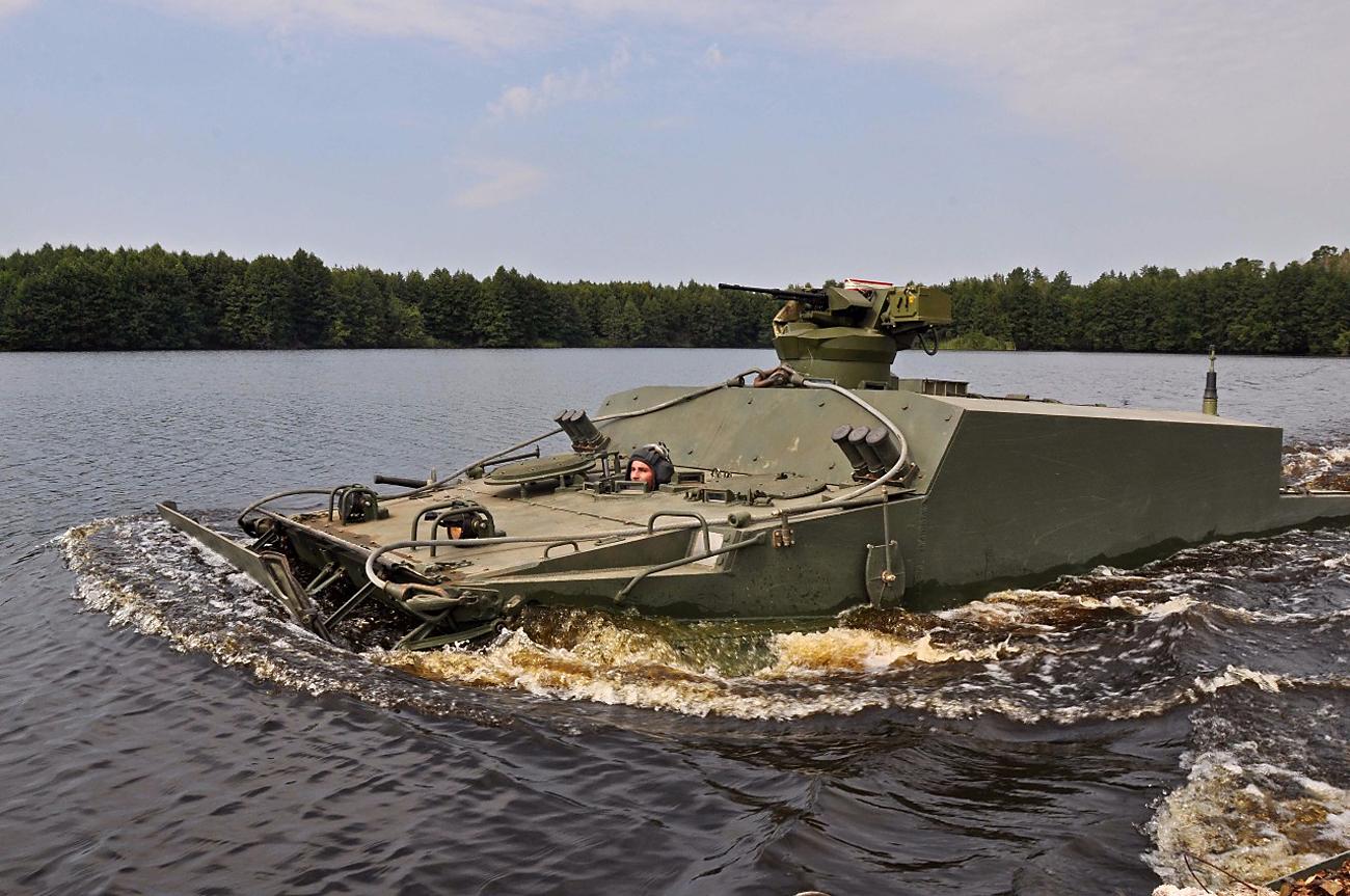BT-3F amphibious armored personnel carrier / Source: Press photo