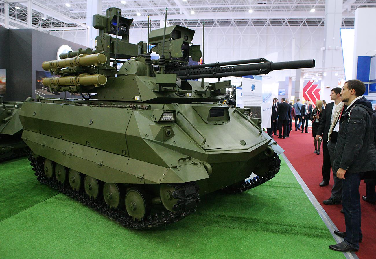 Uran-9 attack robot / Source: Ladislav Karpov/TASS