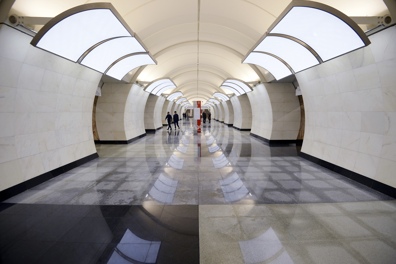 The new Butyrskaya station opens at the Lyublinsko-Dmitrovskaya Line.