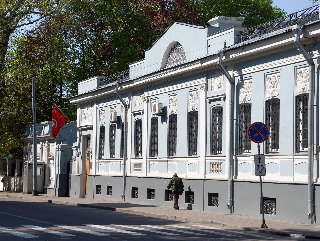 現在チュニジア大使館であるベリヤ長官の家=Lori / Legion-Media