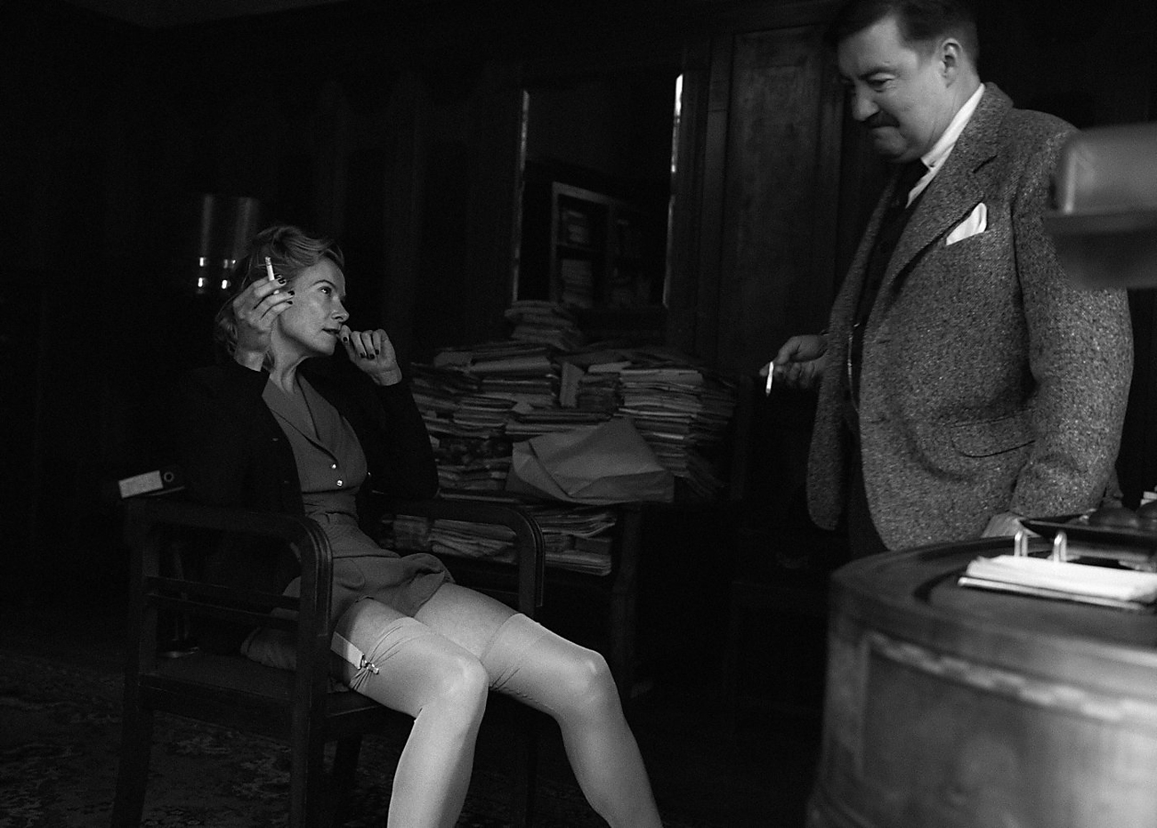 A screenshot from Konchalovsky's 'Paradise.'