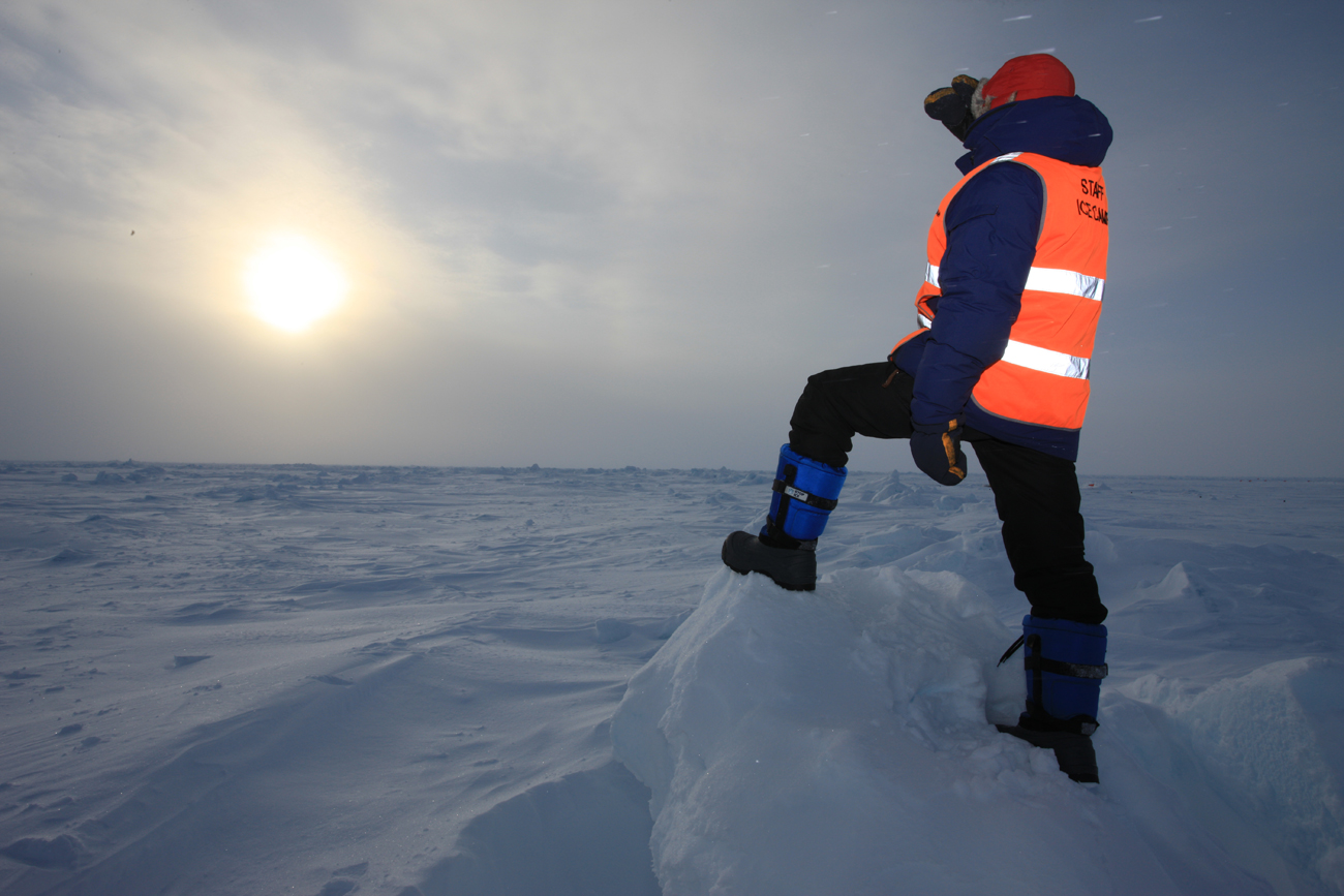 The high-tech footwear was successfully tested at the Barneo station in the Arctic.