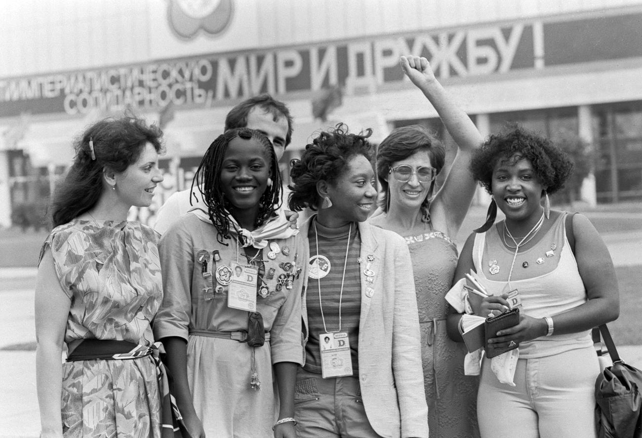 SSSR je stipendirao tisuće afričkih studenata.