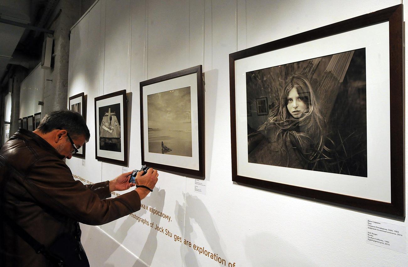 L'exposition de Jock Sturges au Centre de photographie des frères Lumière à Moscou.
