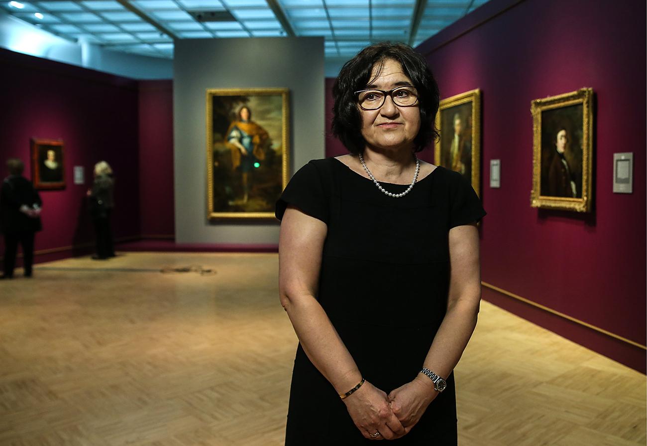 Selfira Tregulowa, Direktorin der Tretjakow-Galerie.