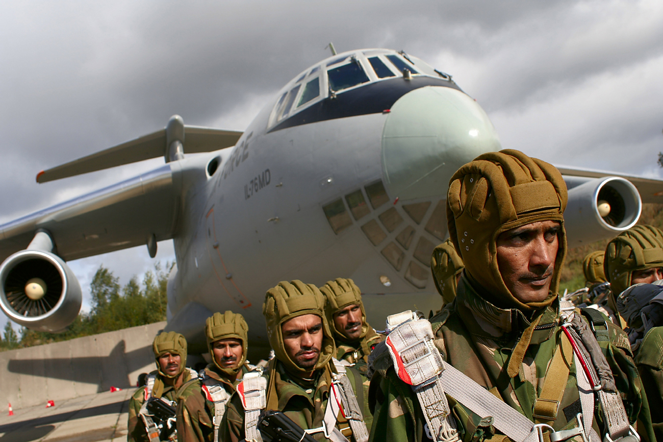 Russia and India have been holding annual drills for more than a decade.