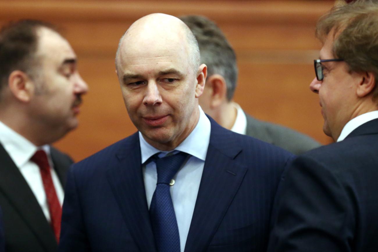 Le ministre russe des Finances Anton Silouanov.