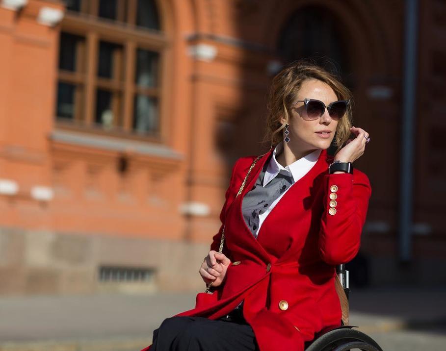 Ksênia ficou paralítica após acidente de carro em 2008