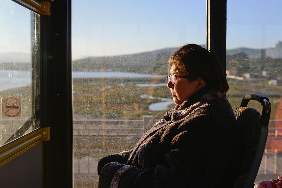 Nadežda, prebivalka Murmanska, se spominja, kako je enkrat odšla iz nočnega kluba in srečala starejši par, ki se je vračal iz gozda, kjer sta nabirala gobe.