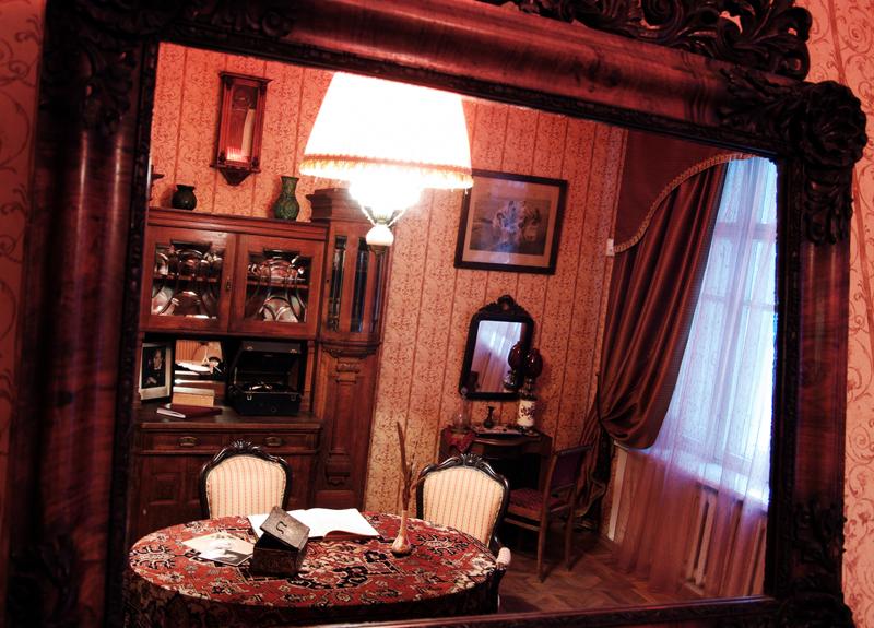 O famoso apartamento número de 50 de Bulgákov (Foto: Divulgação)