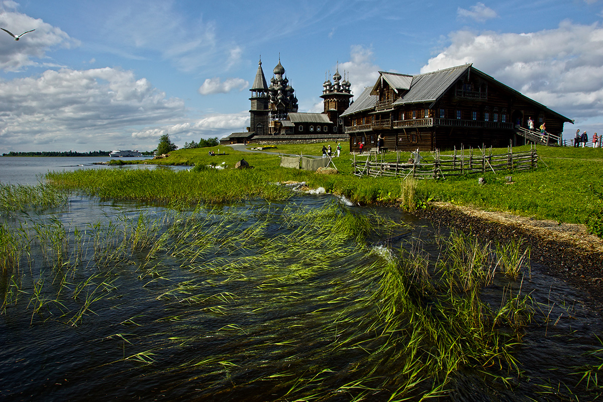 Log churches and white nights on Kizhi Island. Petr Kosykh. See more...