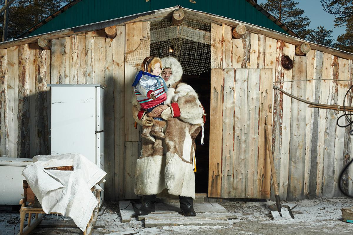 The Khanty taiga dwellers: breeding deers, reading tracks. Fyodor Telkov. See more...