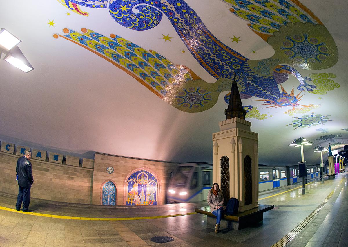 O sistema metroviário de Kazan foi o único construído na Rússia pós-soviética. Sua inauguração ocorreu em 2005, ano em que foi celebrado o milésimo aniversário da cidade.