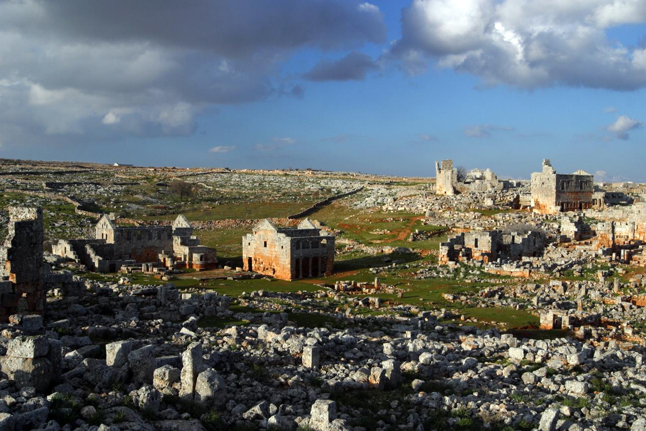 """""""Мъртвите градове"""" в Сирия."""
