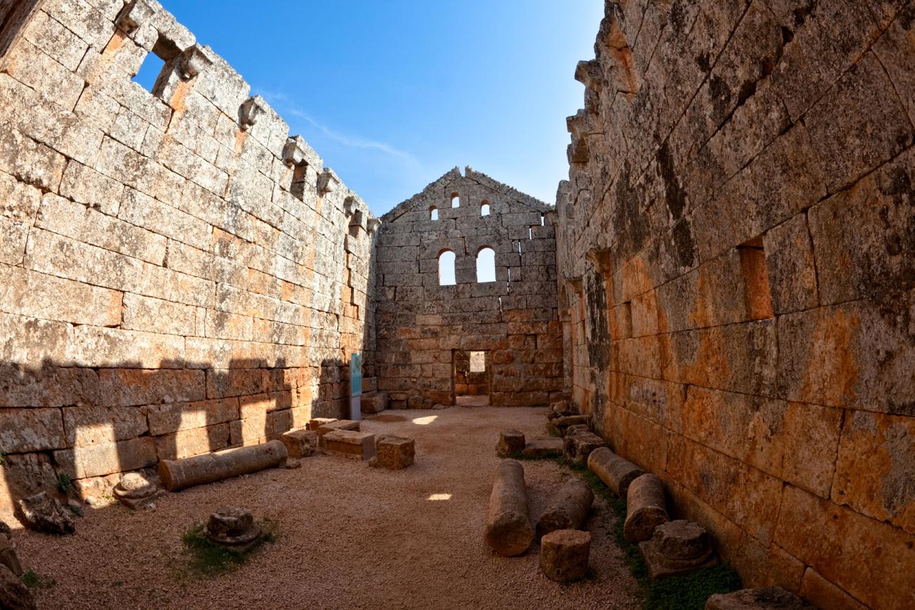 Византијски град Серџила на северу Сирије.