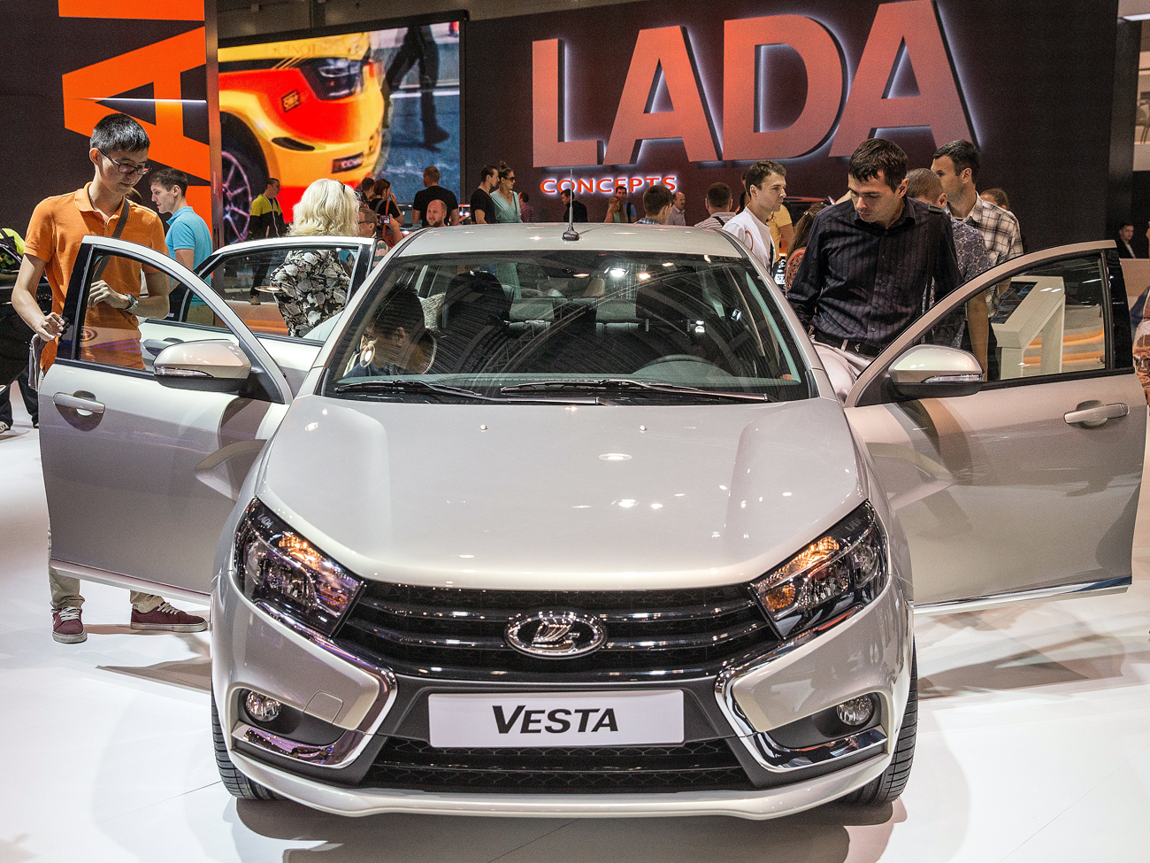 2,300 Lada cars were sold in Germany in 2016.