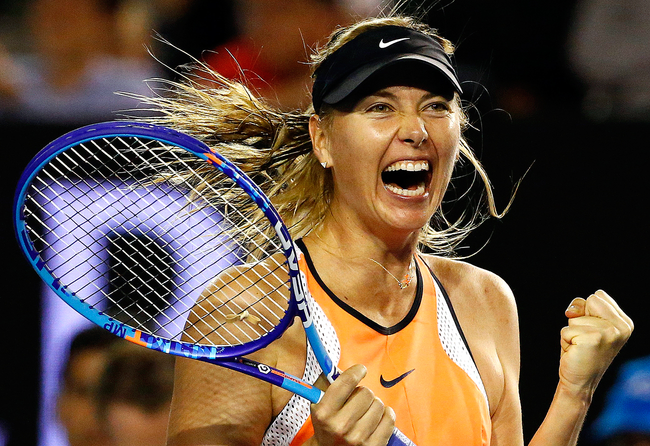 Russia's Maria Sharapova comes back after a 15 month suspension over use of doping.