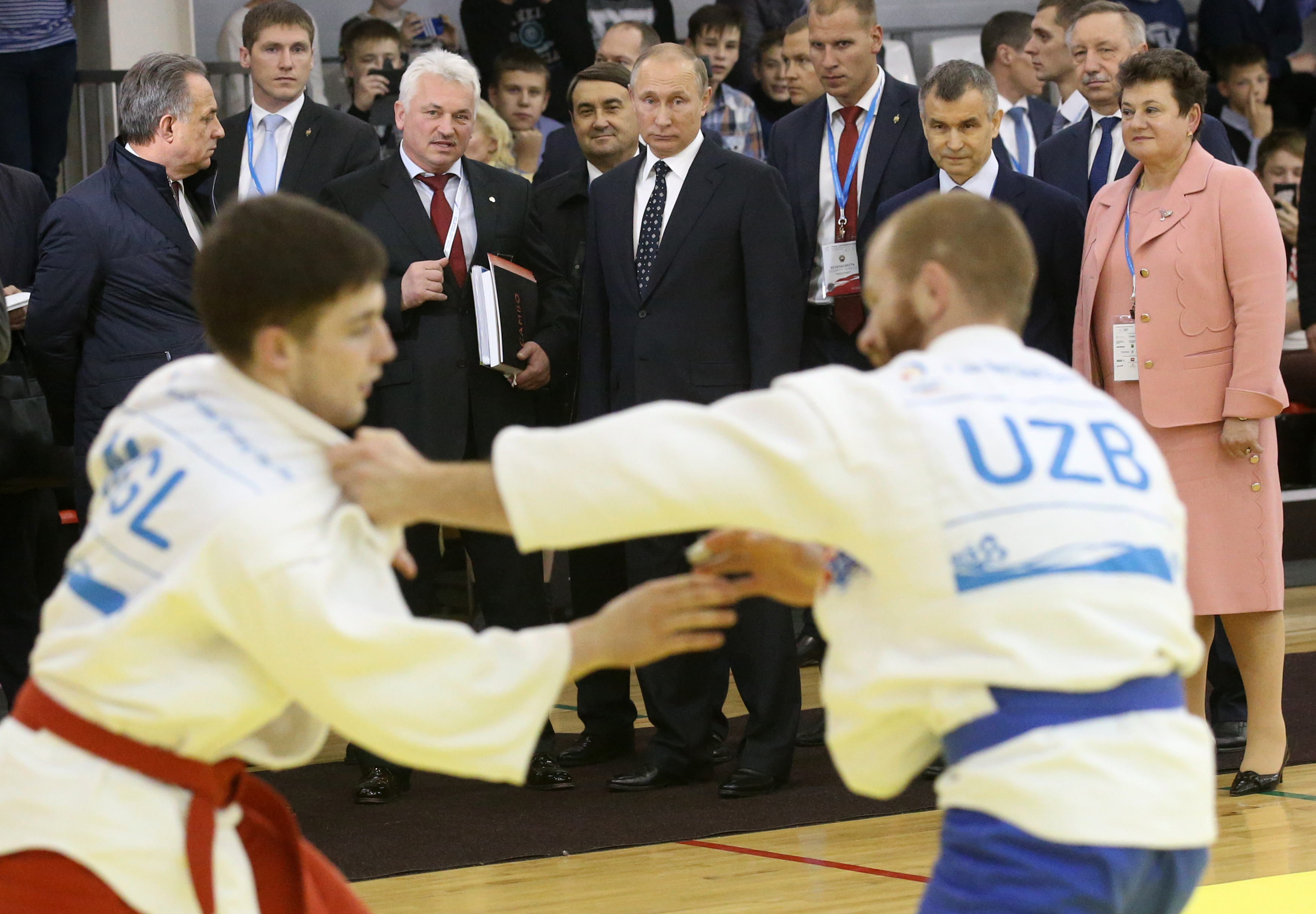 Putin Visits Day Of Sambo Festival In Vladimir Region Russia Beyond