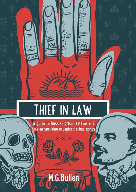 """E-book """"Thief in Law"""", disponível na Amazon Foto: Divulgação"""