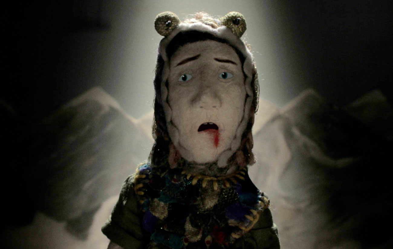 "A screenshot from animation ""Edmond"" by Nina Gantz."