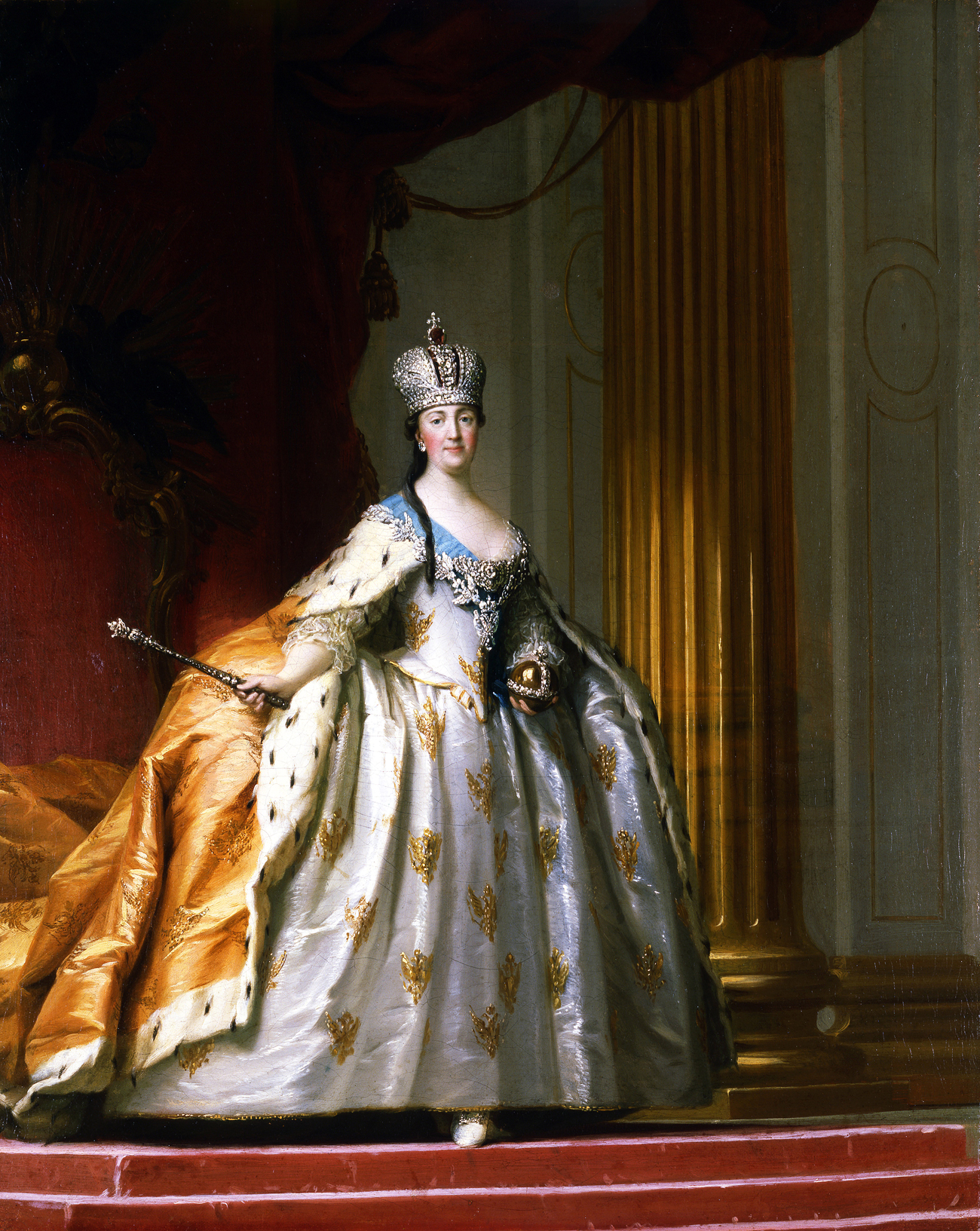 L'imperatrice Caterina II. Fonte: Getty Images