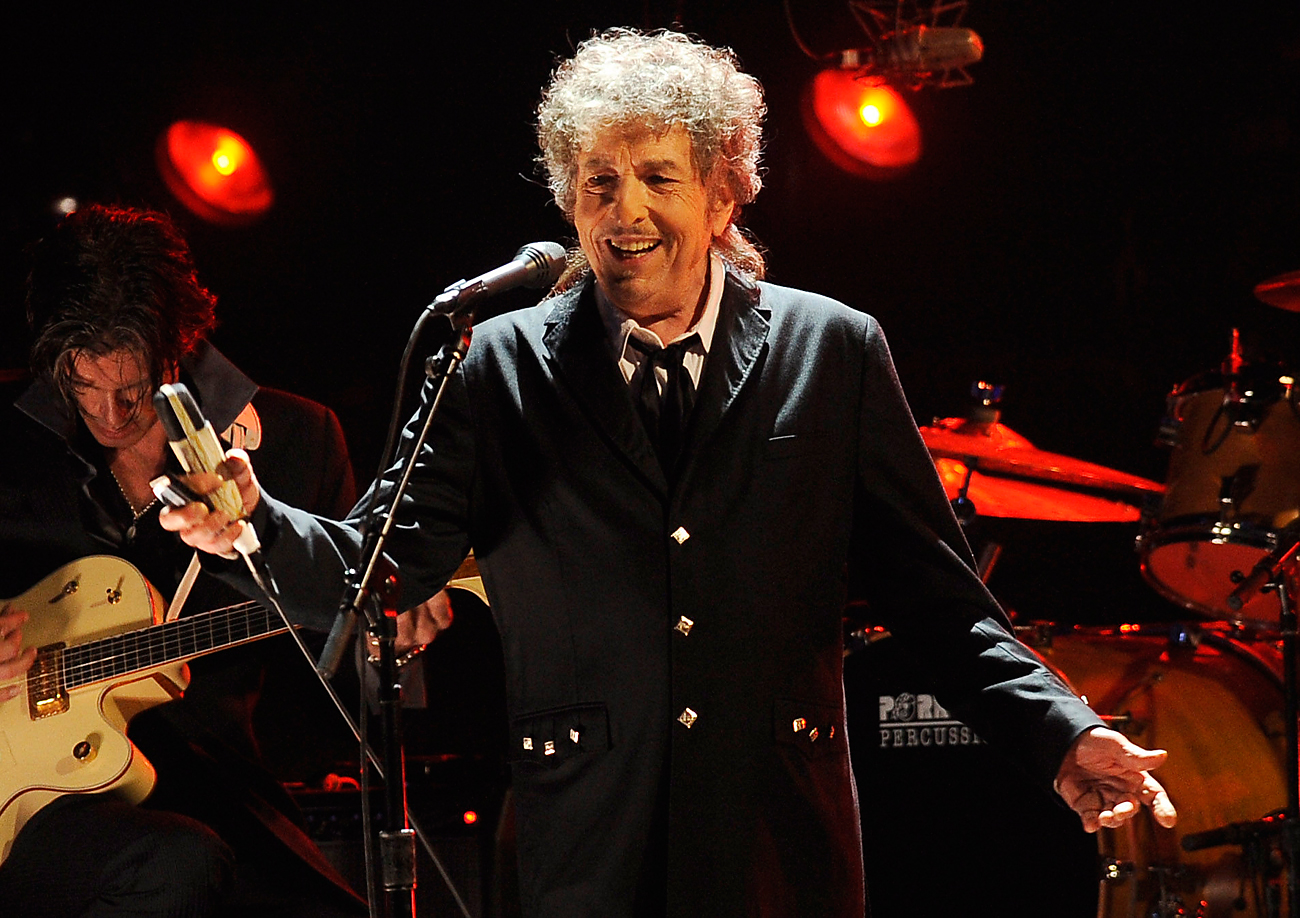 Bob Dylan won the 2016 Nobel Prize in Literature, the Swedish Academy announced in Stockholm on Oct.13, 2016.