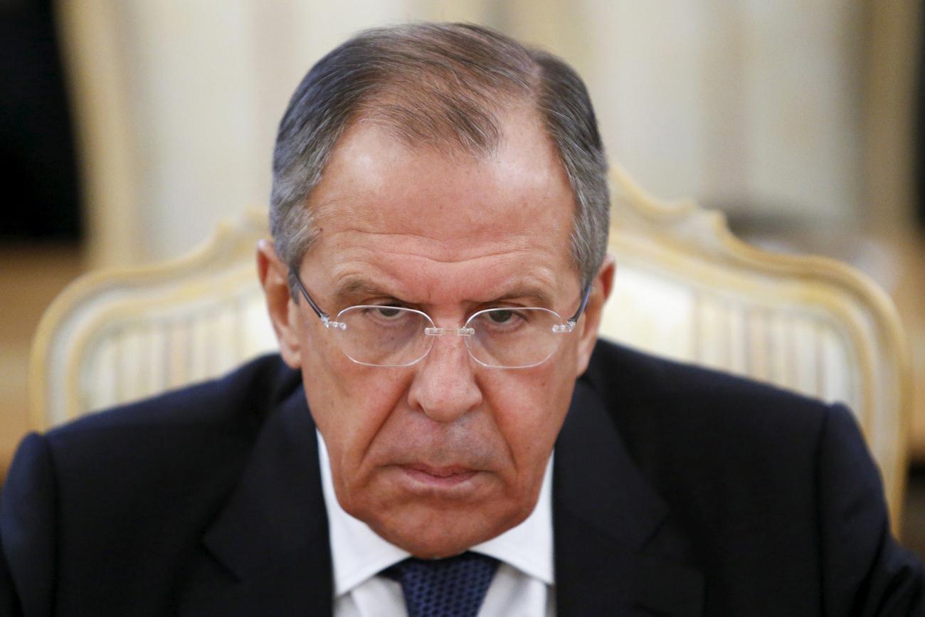 Menteri Luar Negeri Rusia Sergey Lavrov.