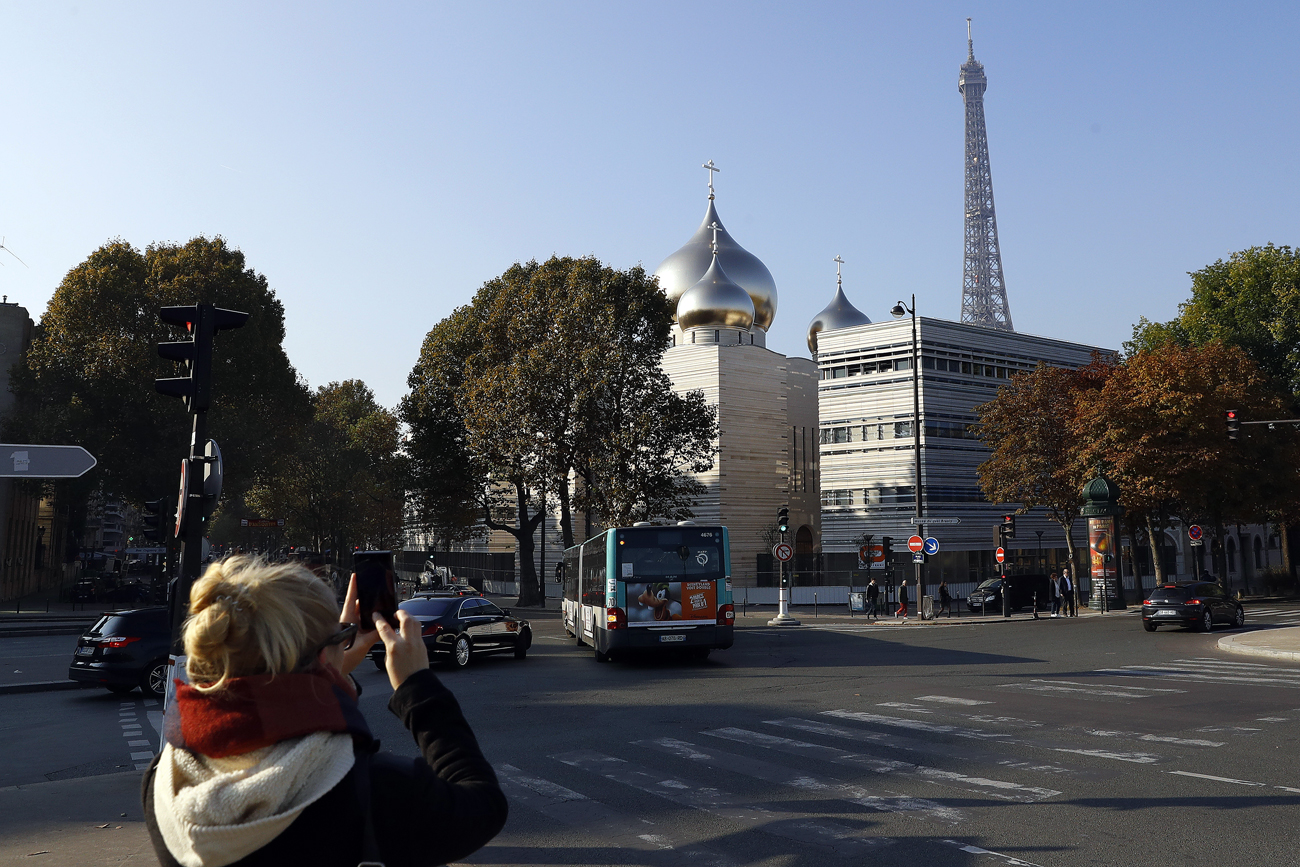 Russian Spiritual and Cultural Center will open in Paris on Oct. 19.