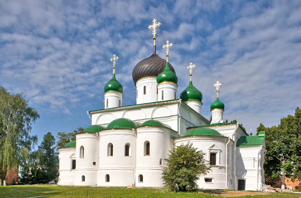Feodorovsky Convent in Pereslavl-Zalessky: Spiritual support for Muscovy