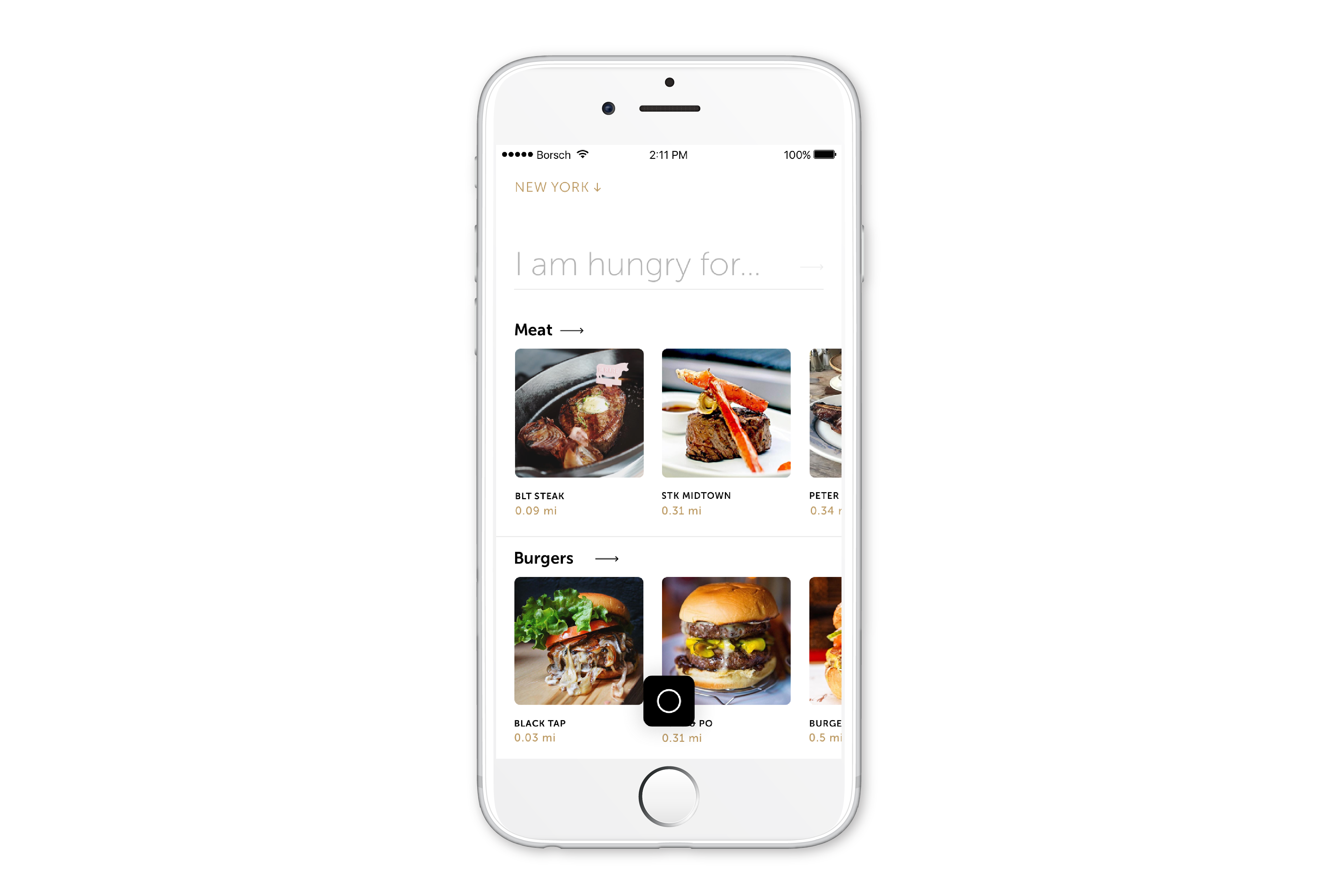 In the Spot of the Day section the app suggests cafes and restaurants that it considers the most delicious, while in Trending Now you can find places where users are posting photos of dishes in real time. Source: Press photo